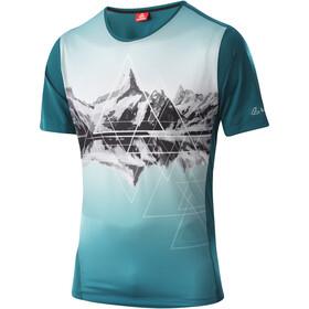 Löffler Peaks Fahrrad T-Shirt Herren grün